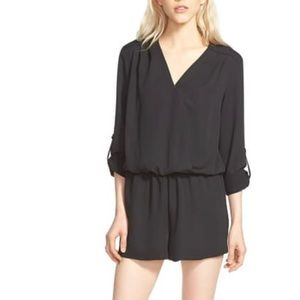 Trouve Pants & Jumpsuits - Trouve Surplice Romper
